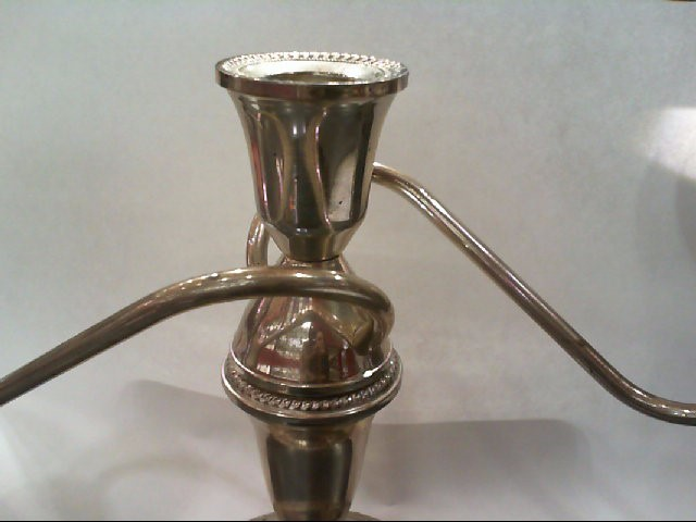 DUTCHIN CREAIONS CANDLE STICK STERLING SILVER