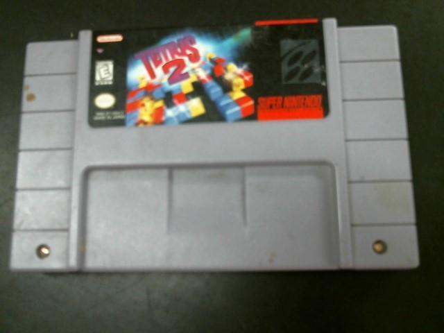 NINTENDO Nintendo SNES Game SUPER NINTENDO TETRIS 2