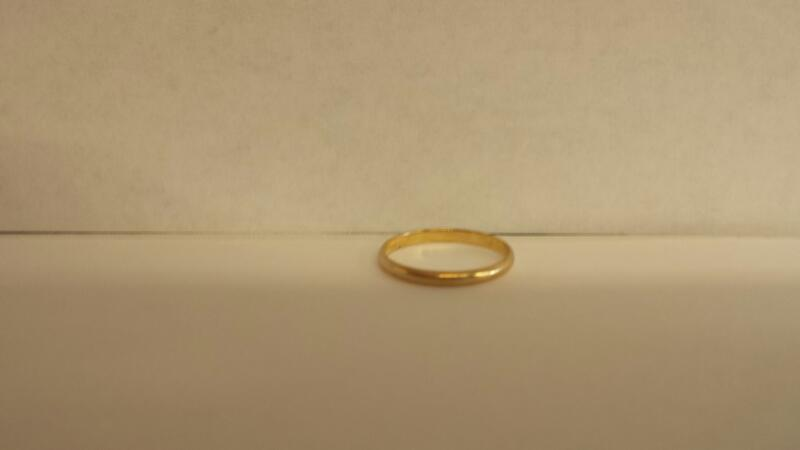 10k Yellow Gold Ring .59dwt - Size 5
