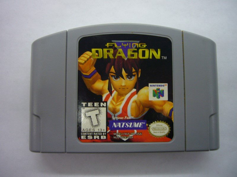 NINTENDO 64 Game FLYING DRAGON *CARTRIDGE ONLY*