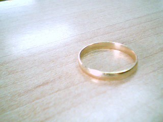 Gent's Gold Wedding Band 10K Yellow Gold 1.7g Size:9.8