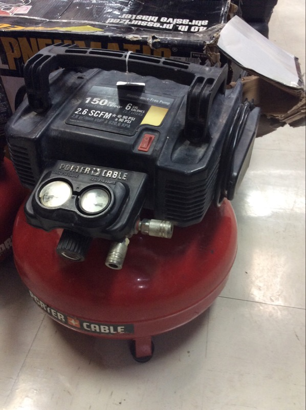 PORTER CABLE Air Compressor C2002-WK