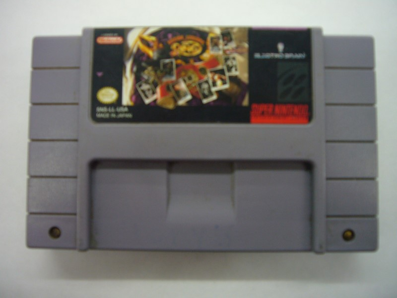 NINTENDO SNES Game BOXING LEGENDS OF THE RING *CARTRIDGE ONLY*