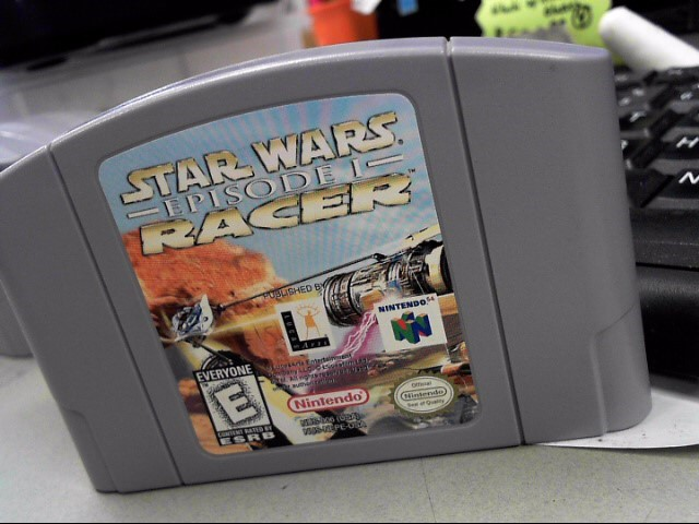 NINTENDO Nintendo 64 Game STAR WARS: EPISODE I: RACER N64