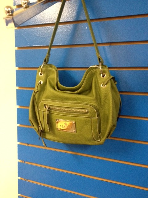 ROSETTI NEW YORK GREEN PURSE