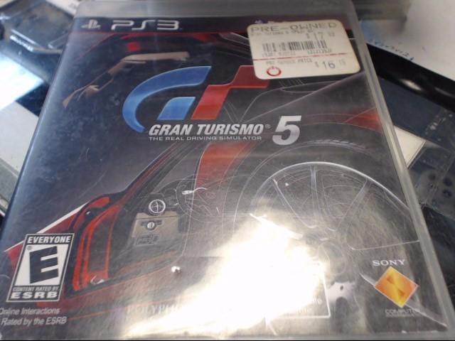 SONY PS3 GRAND TURISMO 5
