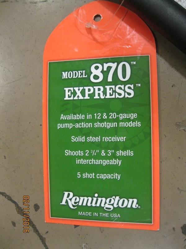 REMINGTON PRODUCTS Firearm Parts 870 BARREL