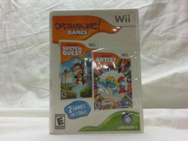 NINTENDO Nintendo Wii Game DRAWSOME GAMES