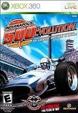 xbox 360 game indianapolis 500 evolution
