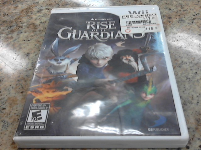 NINTENDO Nintendo Wii Game RISE OF THE GUARDIANS WII
