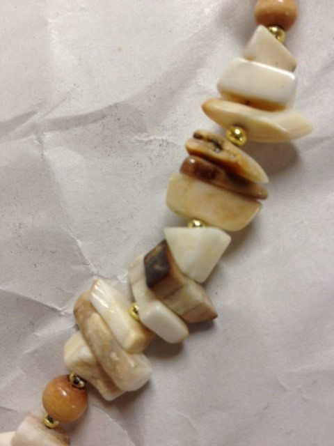 WALRUS IVORY NECKLACE