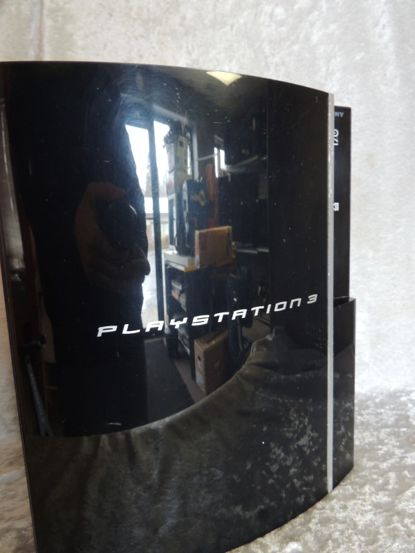 Sony PlayStation 3 80 GB Piano Black Console (CECH-K01) - GOOD CONDITION