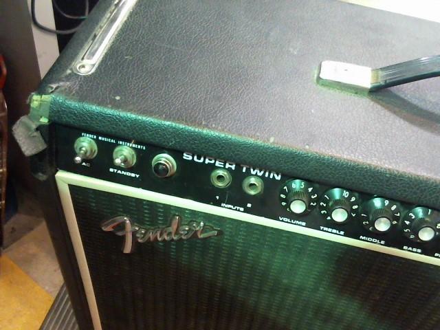 FENDER Amplifier/Tube Amp SUPER TWIN GTR AMP