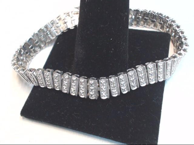 Silver Bracelet 925 Silver 17.6g