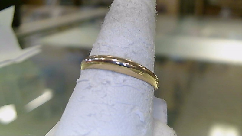 Lady's Gold Wedding Band 14K Yellow Gold 1.4g