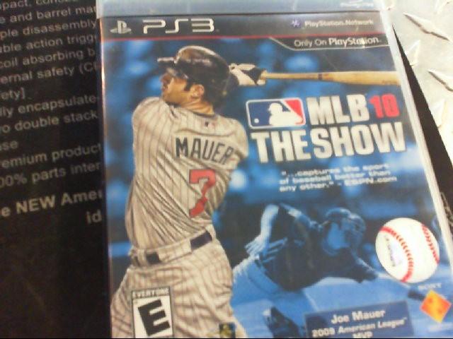 ACTIVISION Sony PlayStation 3 Game MLB 10