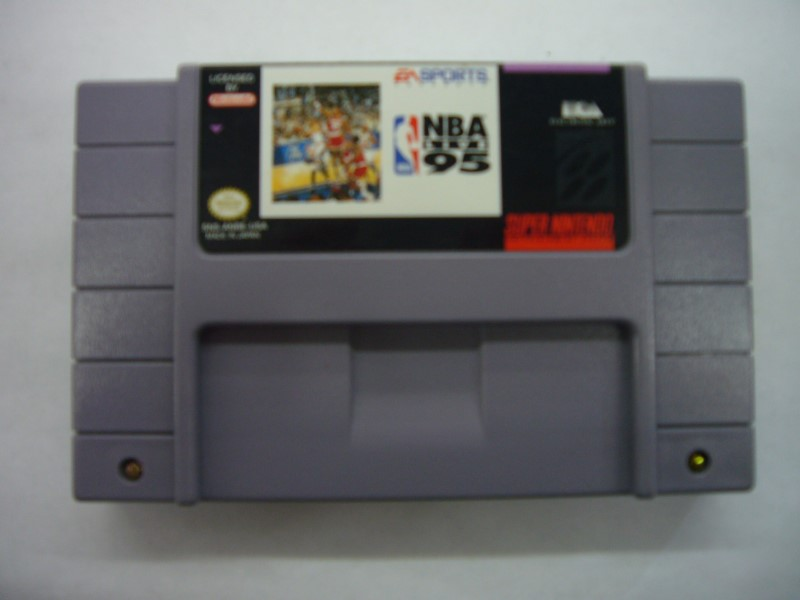 NINTENDO SNES Game NBA LIVE 95 *CARTRIDGE ONLY*