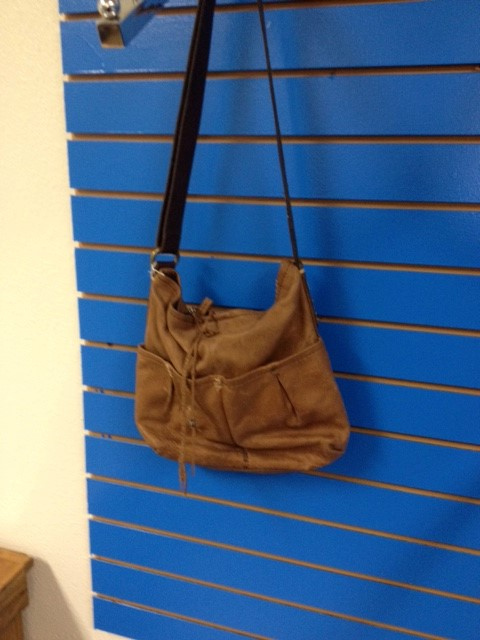 LUCKY BRAND BROWN LEATHER