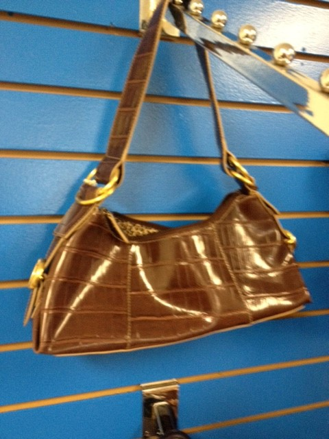 MX BROWN PURSE