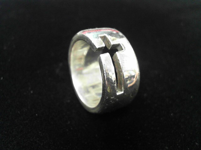 Gent's Silver Ring 925 Silver 18g Size:9.8