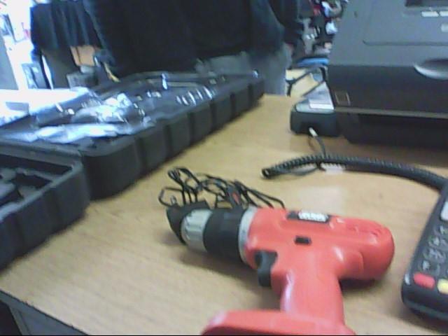 BLACK & DECKER Cordless Drill GC1200