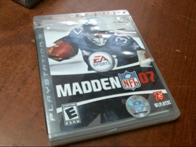 SONY PS3: MADDEN NFL 2007
