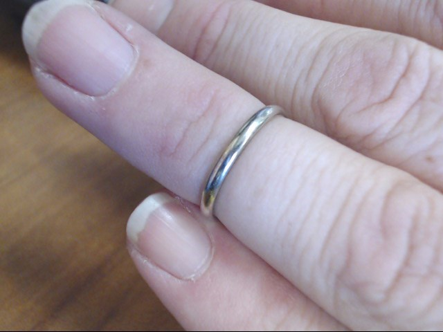 BAND RING JEWELRY, 10KT, 1.20 GR