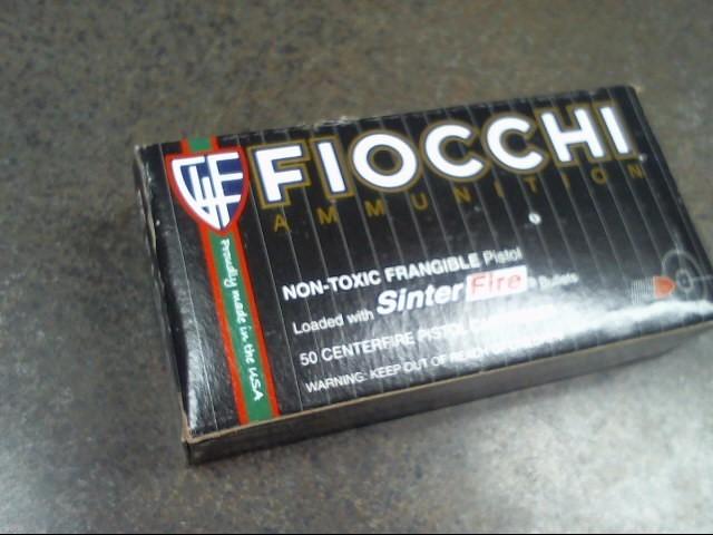 FIOCCHI AMMUNITION 45 AUTO ACP AMMO