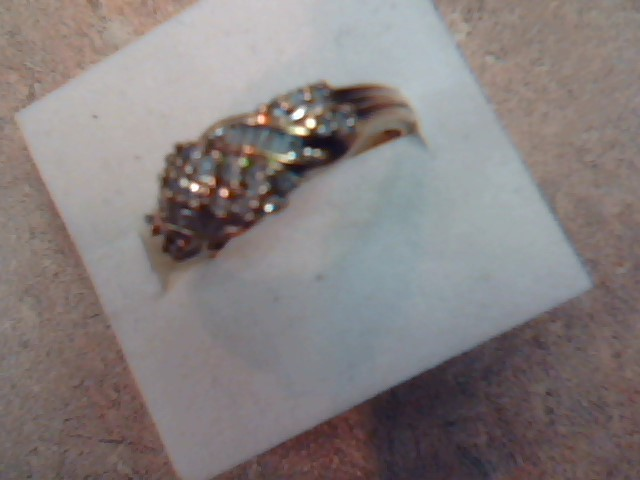 DIAMOND CLUSTER RING JEWELRY, 10