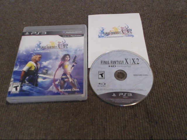 SONY Sony PS VITA Game FINAL FANTASY X X-2 HD REMASTER PS3