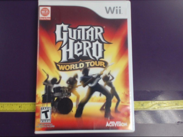 NINTENDO WII GUITAR HERO WORLD TOUR