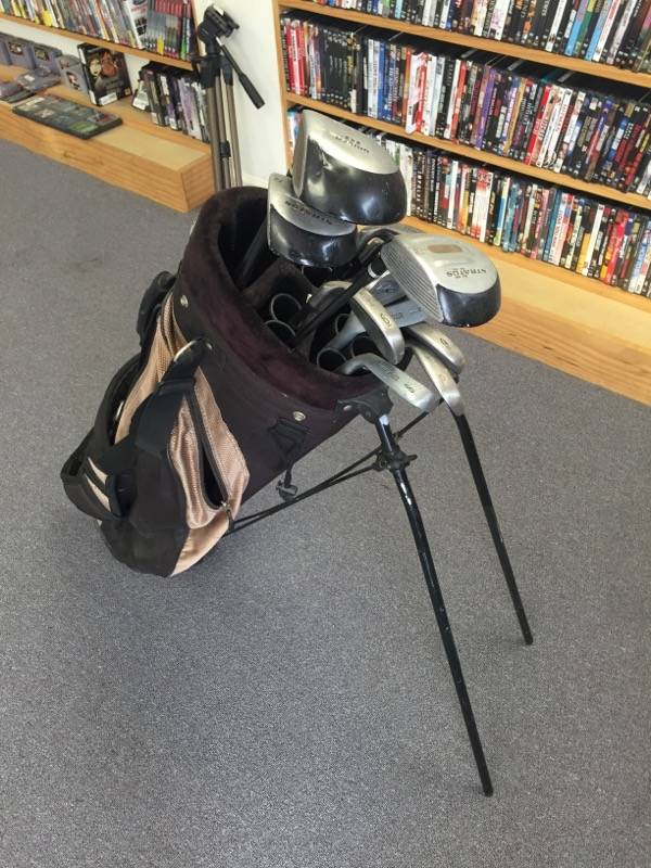Golf Club Set GOLF CLUBS AND BAG