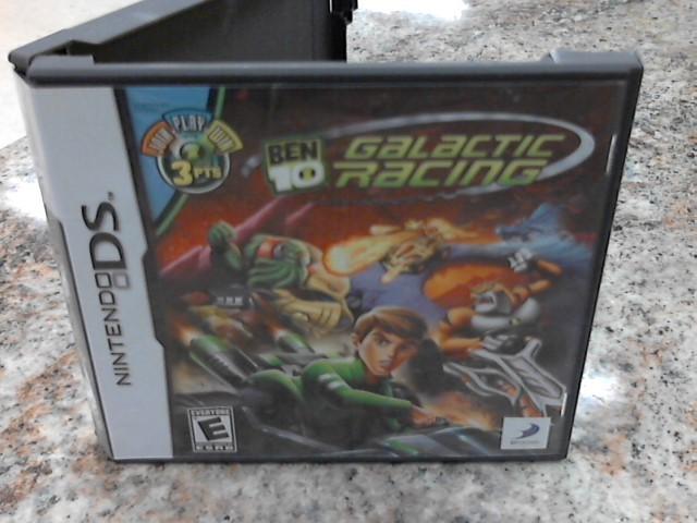 NINTENDO Nintendo Wii Game BEN 10 GALACTIC RACING