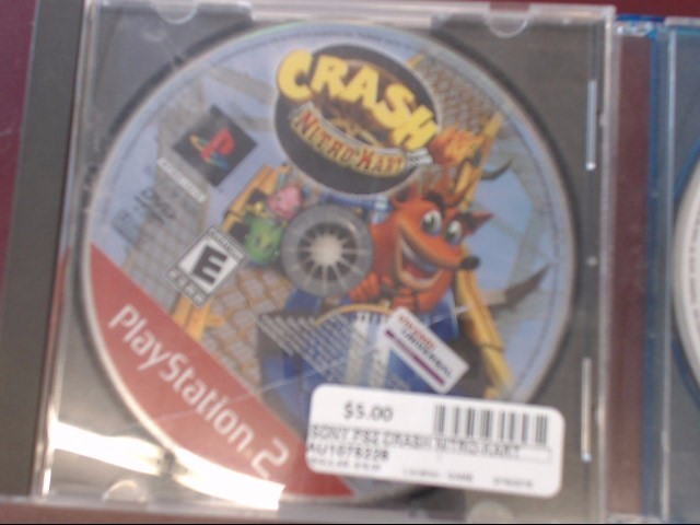 SONY PS2 CRASH NITRO-KART