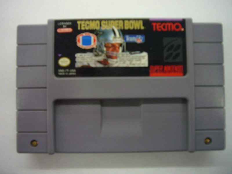 NINTENDO SNES Game TECMO SUPER BOWL *CARTRIDGE ONLY*