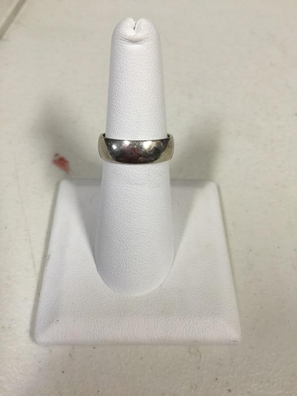 Gent's Gold Ring 14K White Gold 4.4g