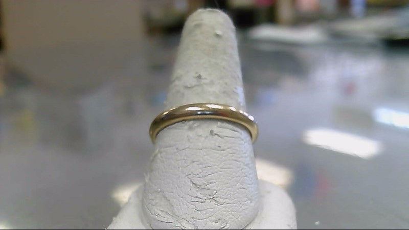 Gent's Gold Wedding Band 14K Yellow Gold 4.2g