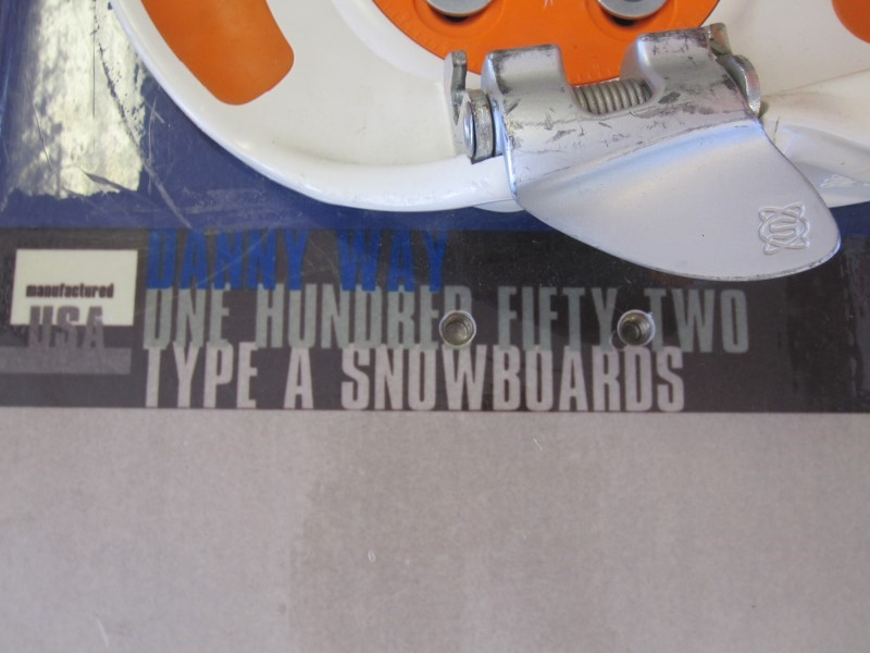 DANNY WAY Snowboard TYPE A