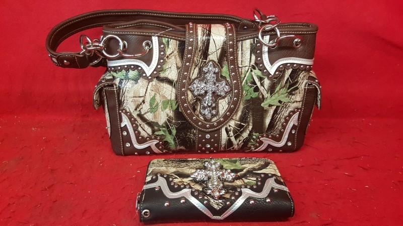 LADIES PURSE Handbag INCLUDES WALLET
