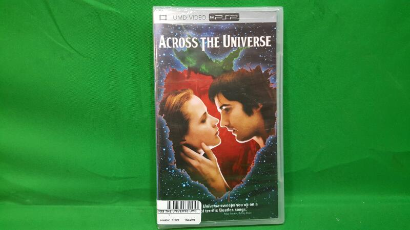 SONY UMD ACROSS THE UNIVERSE UMD MOVIE