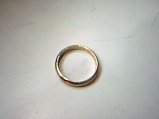 Gent's Gold Wedding Band 14K Yellow Gold 4.4g