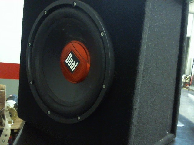 "DUAL ELECTRONICS Car Speakers/Speaker System 12"" SUBWOOFER"
