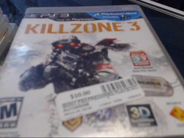 SONY PS3 KILLZONE 3