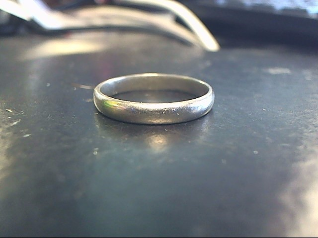 Gent's Gold Ring 10K White Gold 2.3dwt