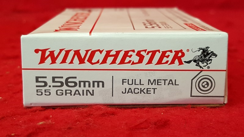 WINCHESTER 5.56mm 55gr FMJ Ammo