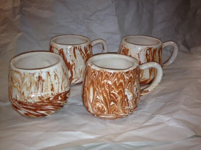 ALASKA CLAY CUPS (4)