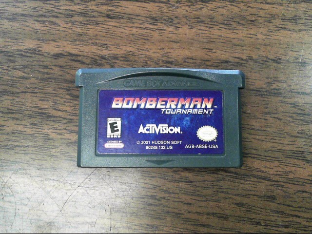 NINTENDO Nintendo GBA Game BOMBERMAN TOURNAMENT
