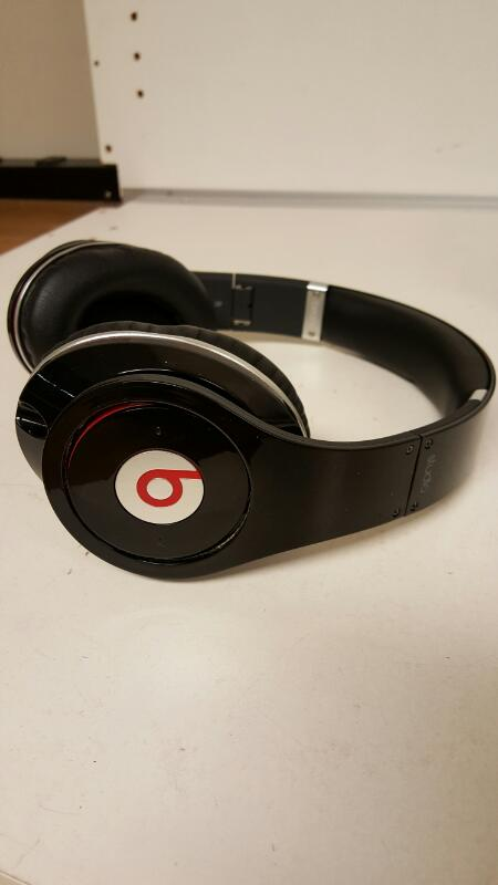 Beat By Dr. Dre Studio Wired Headband Headphones - Black / Red