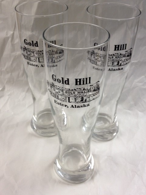GOLD HILL LIQUOR GLASSES SET OF 3