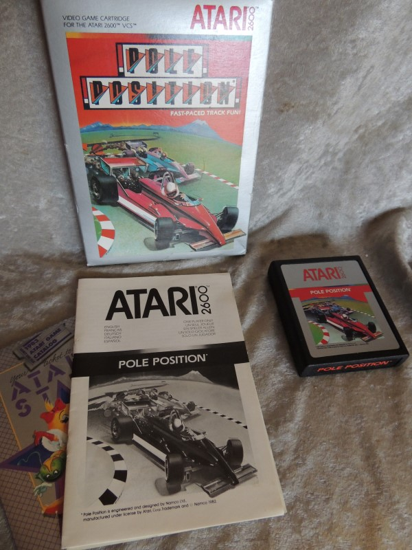 ATARI VINTAGE GAME POLE POSITION